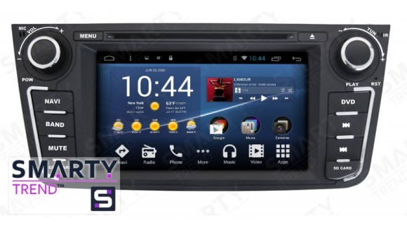 The SMARTY Trend Entertainment Multimedia for Geely Emgrand X7 video review.
