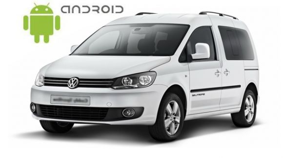Volkswagen Caddy Android in-dash Car Stereo Navigation head unit - SMARTY Trend