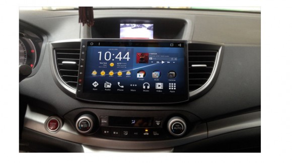 Overview the SMARTY Trend head unit for Honda CR-V (2012-2014).
