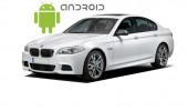 An example of installed SMARTY Trend head unit on Android, in BMW 5 Series F10.