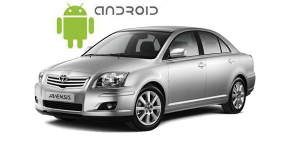 Toyota Avensis as the example of installed SMARTY Trend head unit on Android OS 7.1.2 (Nougat).