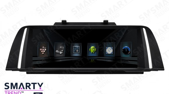 The SMARTY Trend Entertainment Multimedia for BMW 5 Series F10, F11, F07.
