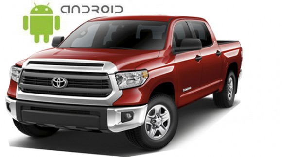 The review of SMARTY Trend head unit with physical buttons for Toyota Tundra.
