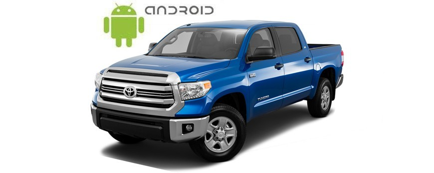 The review of a full touch SMARTY Trend head unit for Toyota Tundra.