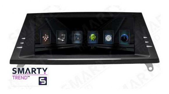 The SMARTY Trend Entertainment Multimedia for BMW X5 Series E70 video review.
