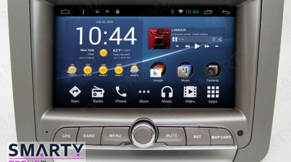 The SMARTY Trend Entertainment Multimedia for SsangYong Rexton II video review.