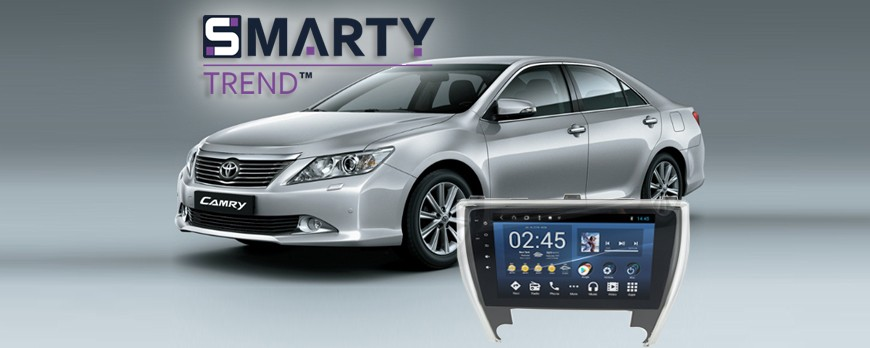 SMARTY Trend head device overview for Toyota Camry V50 2011- 2014.