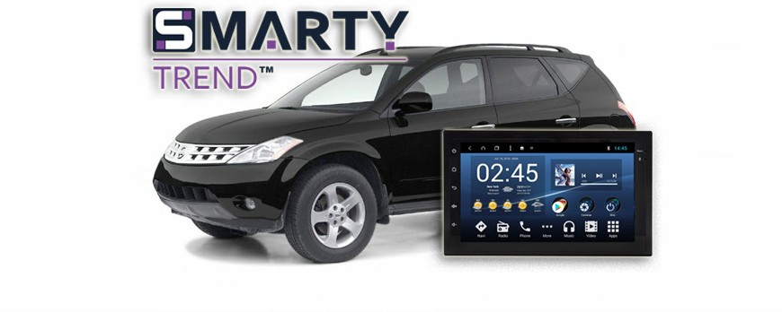 SMARTY Trend head device overview for Nissan Murano 2003-2008.