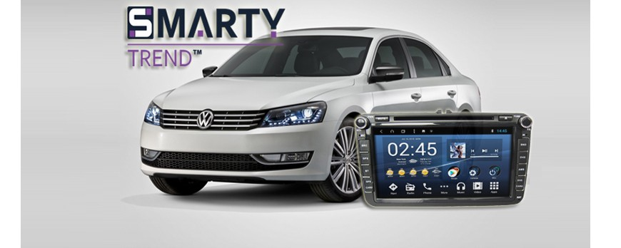 SMARTY Trend head device overview for Volkswagen Passat B7.