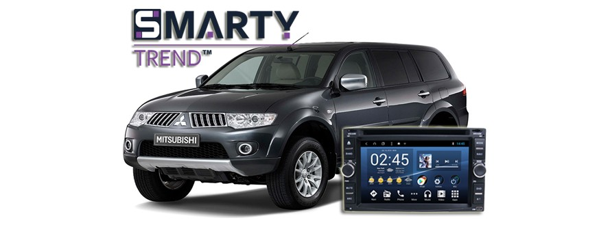 SMARTY TREND HEAD DEVICE OVERVIEW FOR Mitsubishi Pajero Sport.