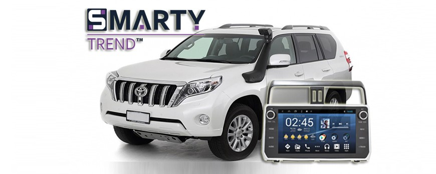 SMARTY Trend head device overview for Toyota LC Prado 150.
