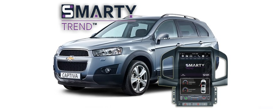 SMARTY Trend head device overview for Chevrolet Captiva.