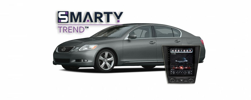 SMARTY  Trend head device oxerview for Lexus GS 300.