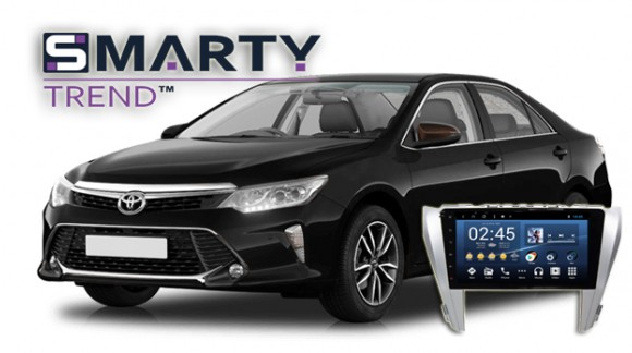 SMARTY Trend head unit overview for Toyota Camry V55.