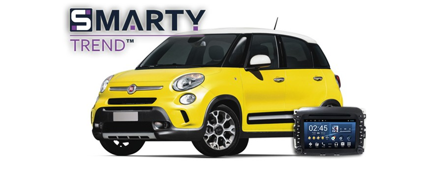 SMARTY Trend head device overview for Fiat 500L.