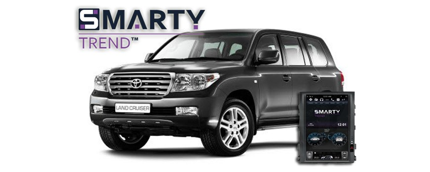 SMARTY Trend head device overview for Toyota Land Cruiser 200.