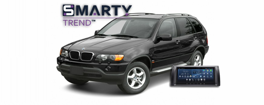 SMARTY Trend head device overview for BMW X-5.