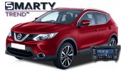 SMARTY Trend head unit overview for Nissan Qashqai.