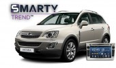 SMARTY Trend head unit overview for Opel Antara.