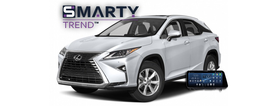 SMARTY Trend head unit overview for Lexus RX IV 300.