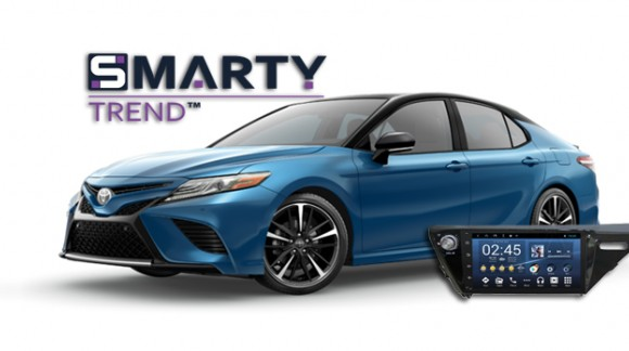 The SMARTY Trend Entertainment Multimedia for Toyota Camry XV70.