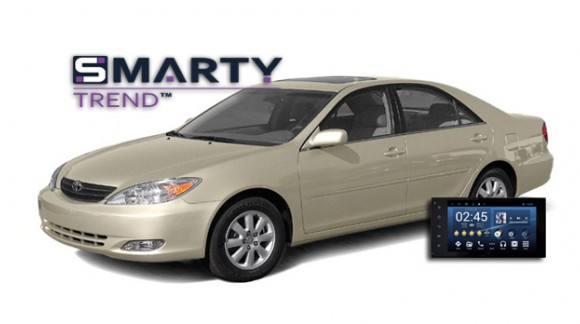 The SMARTY Trend Entertainment Multimedia for Toyota Camry V30.