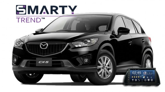 SMARTY Trend head unit overview for Mazda CX 5.