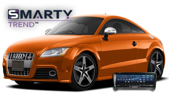 SMARTY Trend head unit overview for Audi TT.