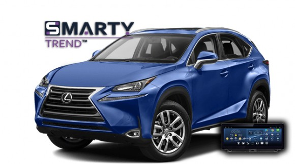 SMARTY Trend head unit overview for Lexus NX.