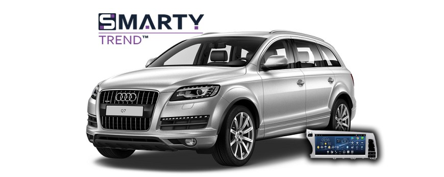 SMARTY Trend head unit overview for Audi Q7.