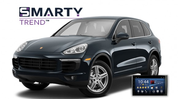 SMARTY Trend head unit overview for Porsche Cayenne.