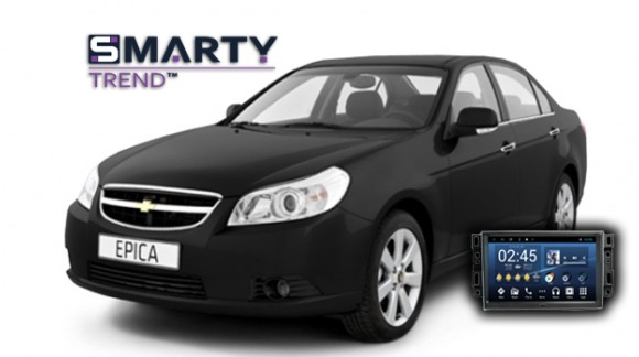 SMARTY Trend head unit overview for Chevrolet Epica.