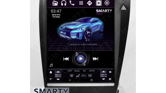 SMARTY Trend head unit overview for Lexus ES.