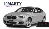 SMARTY Trend head unit overview for BMW F07.