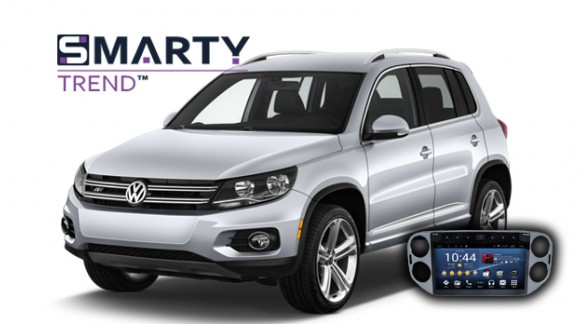 SMARTY Trend head unit overview for Volkswagen Tiguan 2013.
