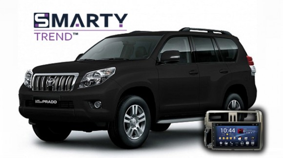 SMARTY Trend head unit overview for Toyota Land Cruiser Prado 150