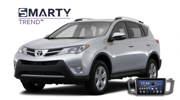 SMARTY Trend head unit overview for Toyota RAV4