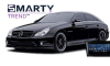 SMARTY Trend head unit overview for Mercedes Benz CLS (w219)