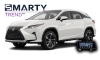 SMARTY Trend head unit overview for Lexus RX.