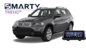 SMARTY Trend head unit overview for BMW X5 E70.