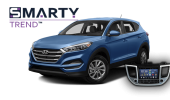 SMARTY Trend head unit overview for Hyundai Tucson 2017