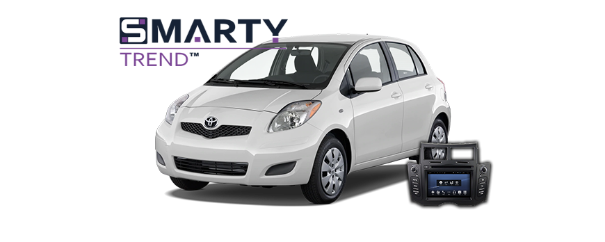 SMARTY Trend head unit overview for Toyota Yaris 2008