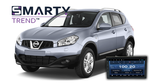 SMARTY Trend head unit overview for Nissan Qashqai