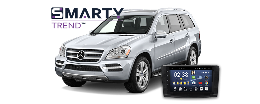Mercedes Benz GL 2010 installation example.