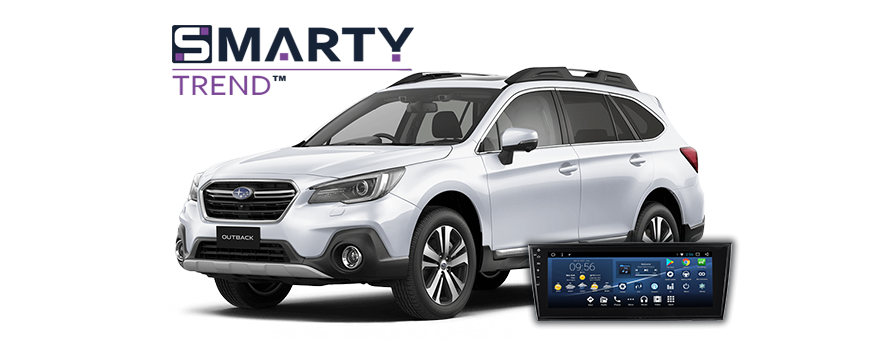 Subaru Outback 2015 installation example.