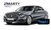Example of installed SMARTY Trend Entertainment Multimedia in MERCEDES BENZ E-CLASS (W212)