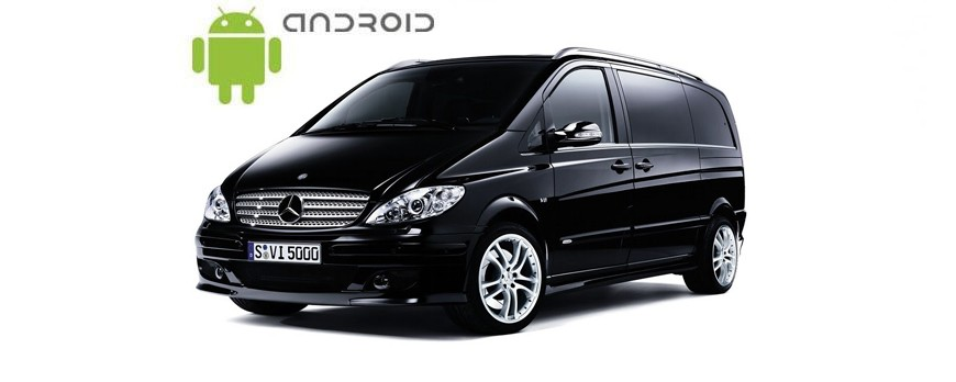 Mercedes Vito Android in-dash Car Stereo Navigation SMARTY Trend