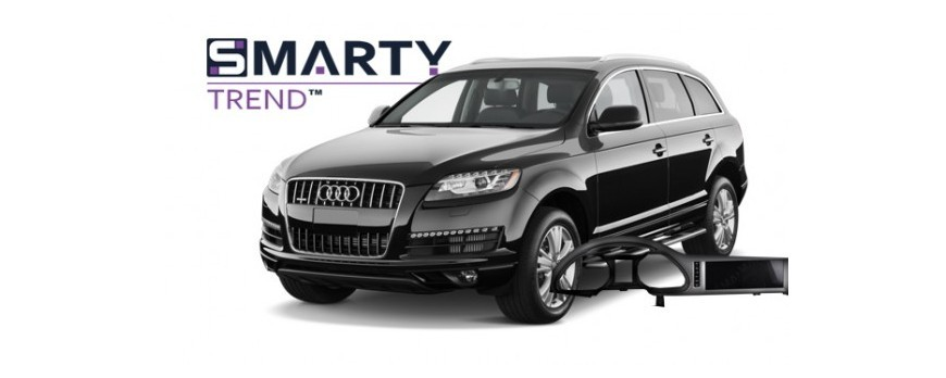 Example of installed SMARTY Trend Entertainment Multimedia in AUDI Q7 2013