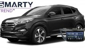 Example of installed SMARTY Trend Entertainment Multimedia in Hyundai Tucson 2017