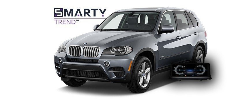 Example of installed SMARTY Trend Entertainment Multimedia in BMW X5M 2011